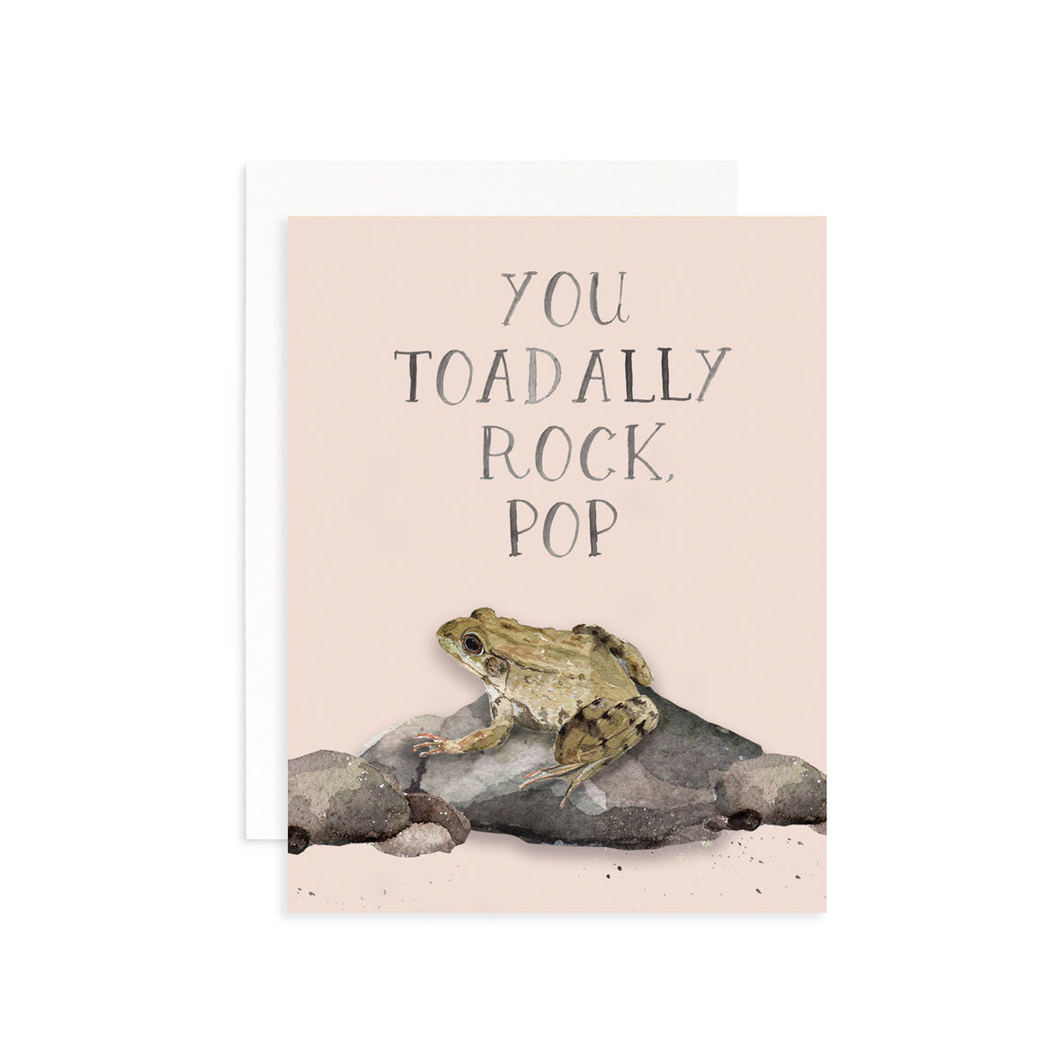 You Toadally Rock, Pop Greeting Card