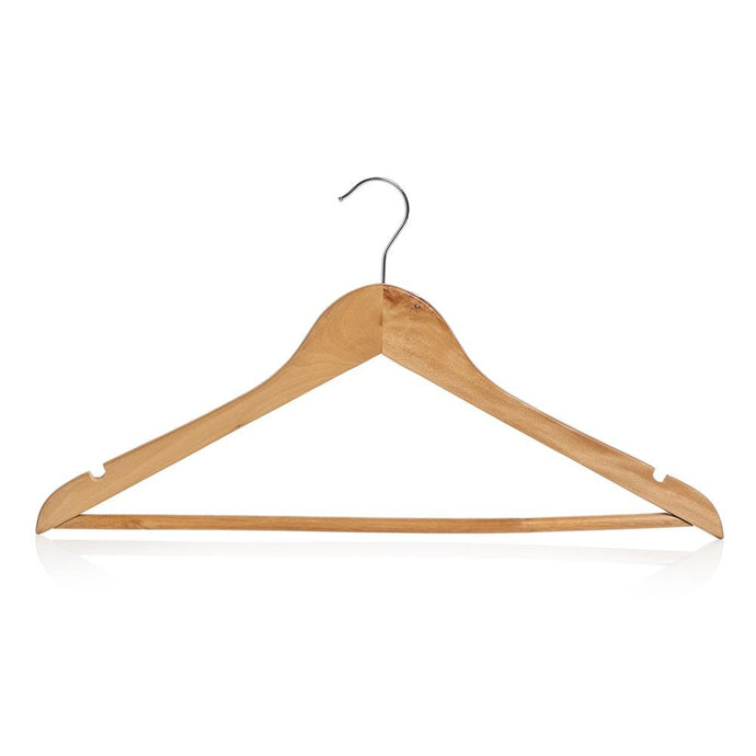 Wooden Coat Hangers (5 - 25 Pack) - Suppliesbnb