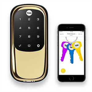 Yale Zwave Plus Touchscreen Key Free Deadbolt With Bluetooth - Suppliesbnb