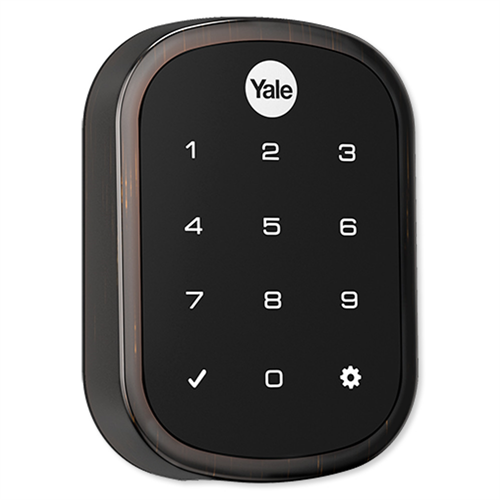 Yale Zwave Plus Slim Key Free Touchscreen Deadbolt - Suppliesbnb