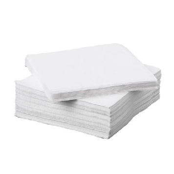 White Napkins (50 Pack) - Suppliesbnb