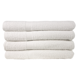 Economy Bath Towels (4 Pack) - Suppliesbnb