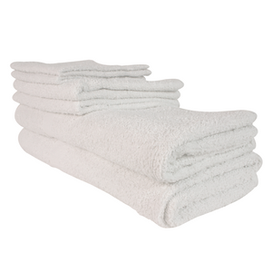 Economy 3 Towel Set (6 Pack) - Suppliesbnb