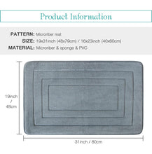Load image into Gallery viewer, U Shape Bath Mat Set