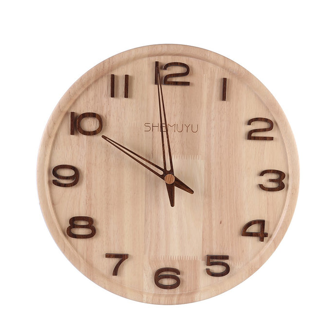 Nordic Mute Wall Clock