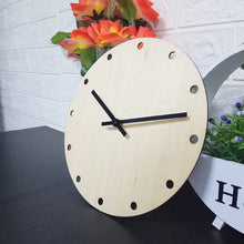 Load image into Gallery viewer, Simple Wood Wall Clock