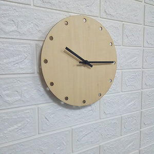 Simple Wood Wall Clock