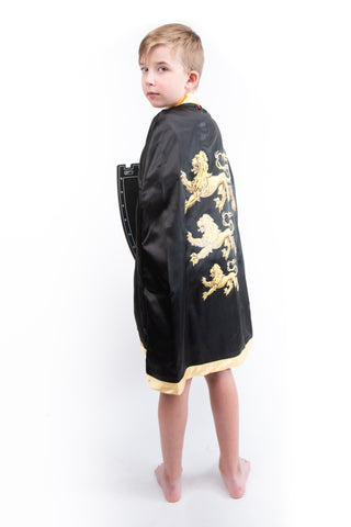 Boys Printed Shield & Cape