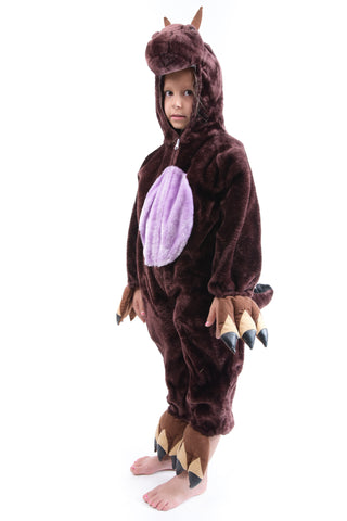 Girls Brown Animal Costume