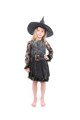 Dark Witch Costume for Girls