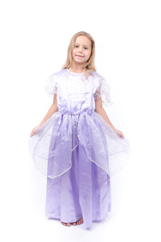 Girls Purple Princess Dress