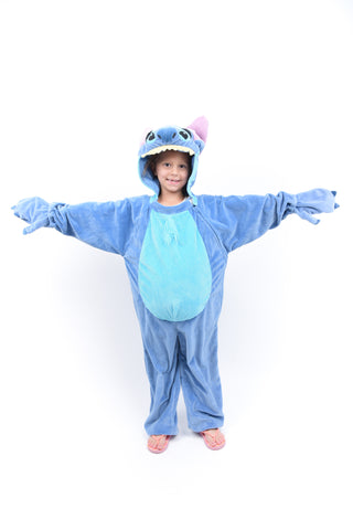 Girls Stitch Onesie Costume