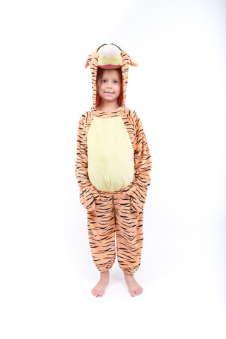 Girls Tigger Onesie Costume