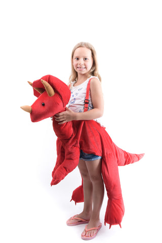 Girls Triceratops Costume