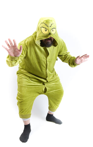 Grinch Onesie Costume