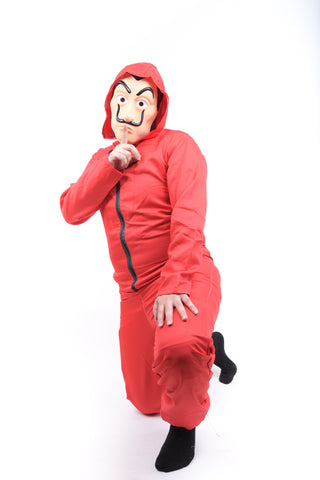 Mens Red Costume