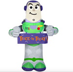 AIRBLOWN BUZZ LIGHTYEAR WITH BANNER