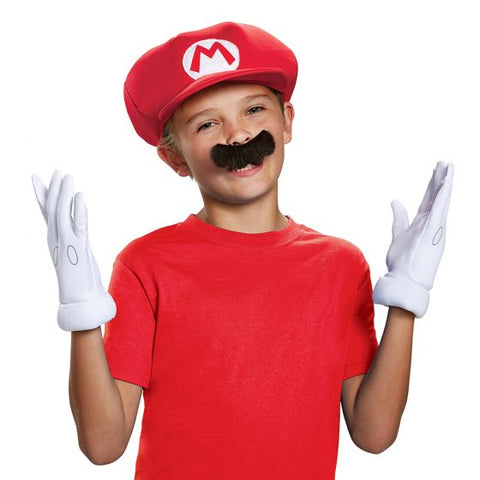 Super Mario Mario Child Accessory Kit