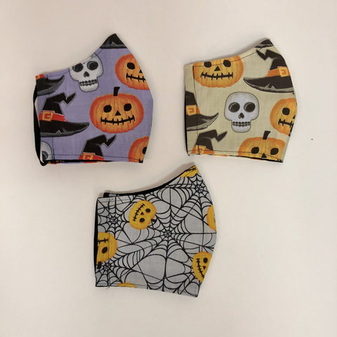 Adult Small/Teen Halloween Themed Face Masks