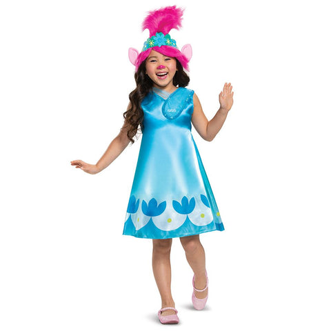 Trolls World Tour Poppy Child Costume