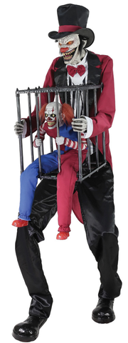 ROTTEN RINGMASTER W CLOWN CAGE