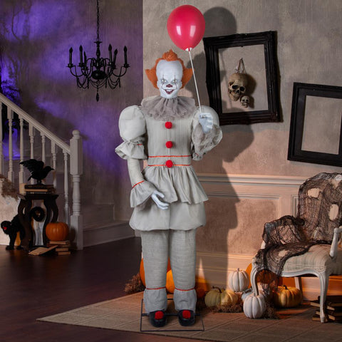 6ft ANIMATED IT (PENNYWISE)