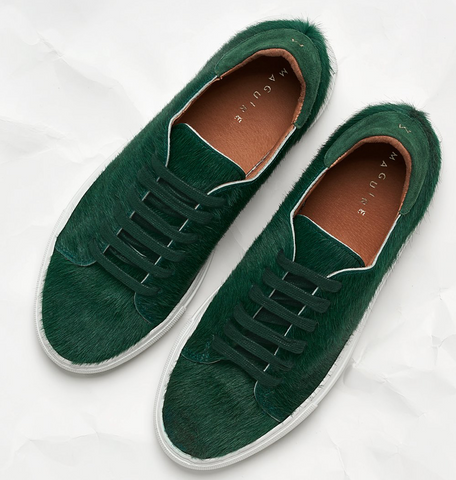 Sneakers verte, Maguire boutique