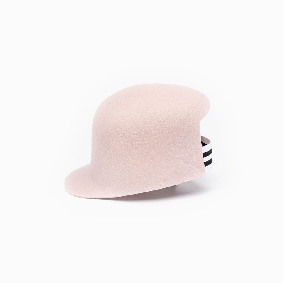 The pink cropped cap BIGGIE is for any season.
