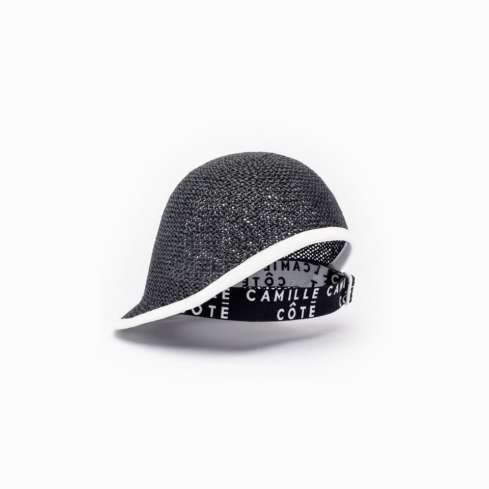 Cropped Cap™ Claire from SS19 collection is available in black.