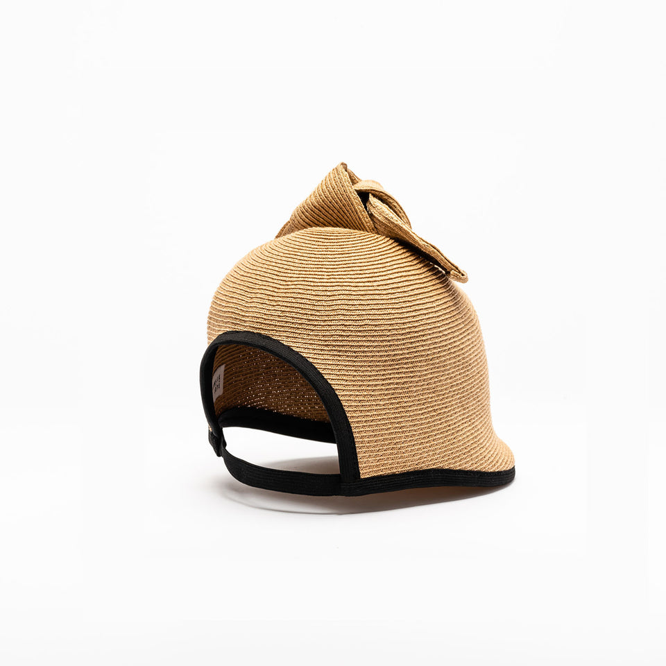 Duchess is a natural straw hat available in tan color.