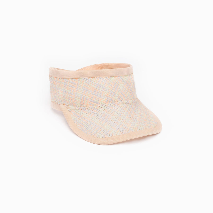 Marion summer hat is available in pastel color.
