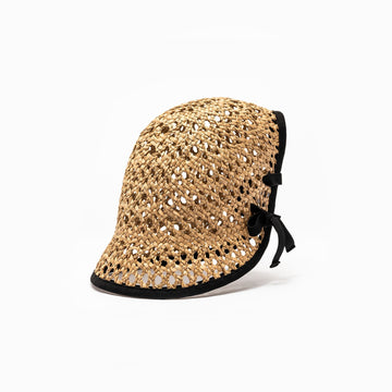 Seagrass straw summer hat Tsu from the SS18 collection.