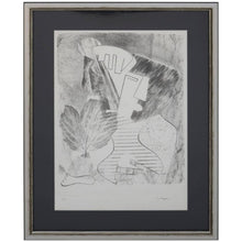 Load image into Gallery viewer, Abstract Portrait Lithograph by David Segel