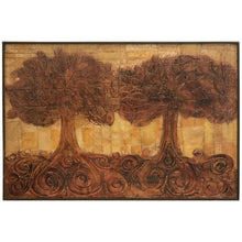 Load image into Gallery viewer, Large Organic Painting of Trees