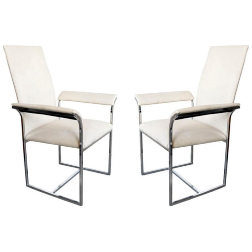 A Pair of Chairs by Milo Baughman for Thayer Coggin