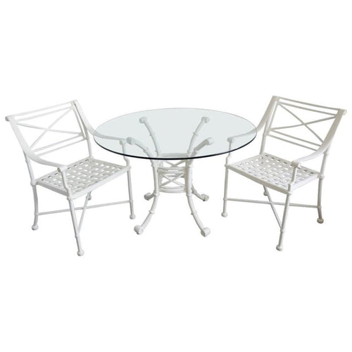 Outdoor Dining Set in the Style of Giacometti