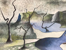 Load image into Gallery viewer, Surrealist Landscape Signed Rothbart