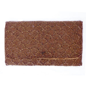 Petite Beaded Clutch