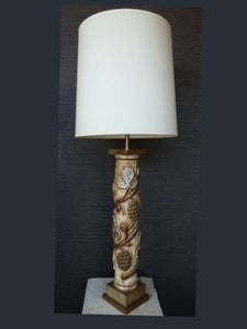 Mid-Century Huge Table Lamp by James Mont