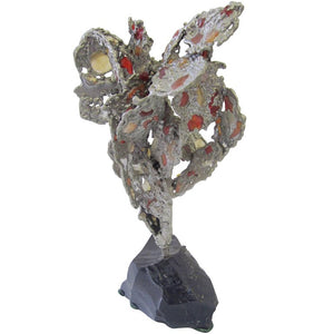 Lead Abstract Sculpture