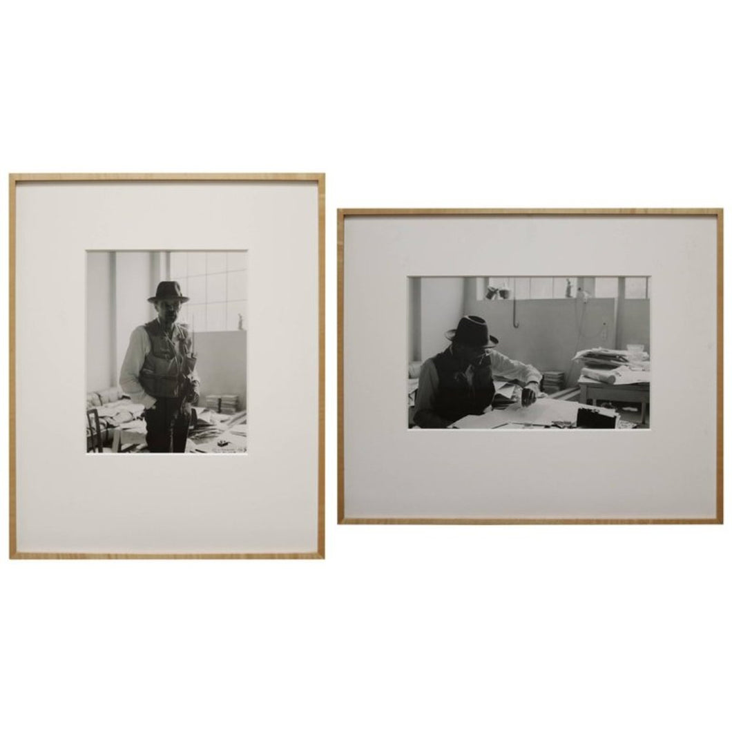 Pair of Self Portraits Photographs by Gottfried Tollman