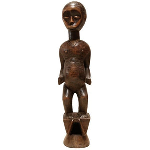 """Fertility"" African Sculpture by the Lobi People"