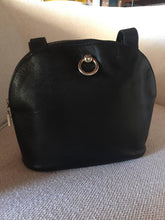 Load image into Gallery viewer, Rare Celine Black Shoulder Clutch Bag