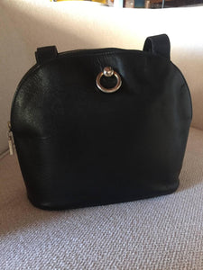 Rare Celine Black Shoulder Clutch Bag