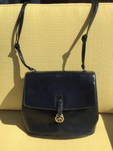 Load image into Gallery viewer, Dark Blue Gucci Double Shoulder Strap Bag