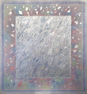 Large Gerald Campell Abstract Painting
