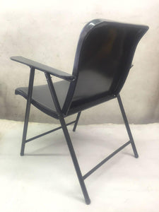 Set of Three Folding Metal Chairs by Russel Wright