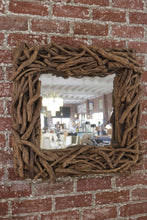 Load image into Gallery viewer, Organic Square Driftwood Mirror