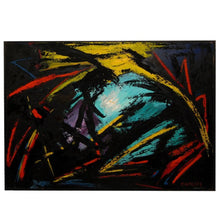 "Load image into Gallery viewer, ""Hope"" Abstract Oil Painting on Canvas by Bert Miripolsky"
