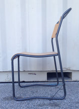 Load image into Gallery viewer, Industrial Metal & Plywood Chair